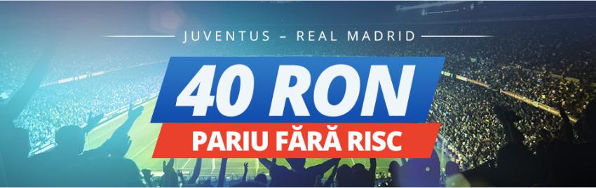 Juventus vs Real   Promotii si Bonusuri pentru finala Ligii Campionilor