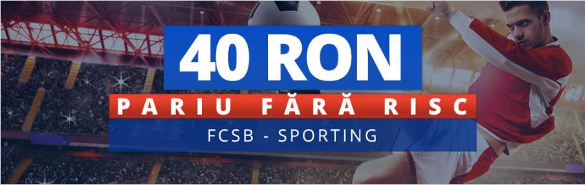 Nu rata cota de 6.0 pentru victoria celor de la FCSB