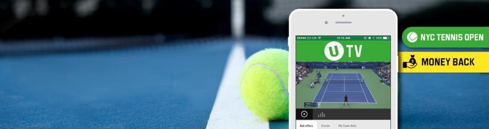 Unibet va asigura pariurile plasate pe US Open