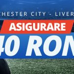 Ai pariul plasat pe Man. City vs Liverpool asigurat de Sportingbet