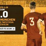 Nu rata COTA 4.0 pentru victorie Bayern Munchen cu Hoffenheim