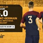 Nu rata cota 6.0 pentru victorie PSG cu Guingamp!